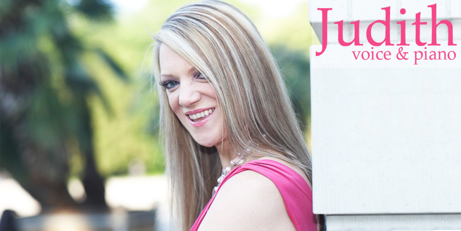 Judith | voice and piano | Wedding Singer & Pianist Houston TX, Miami FL